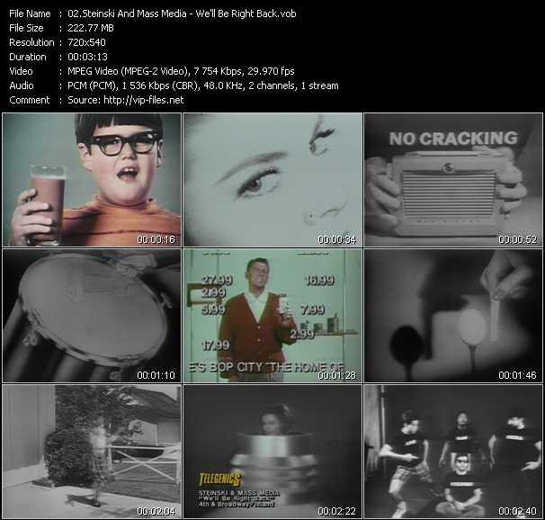Steinski And Mass Media video screenshot
