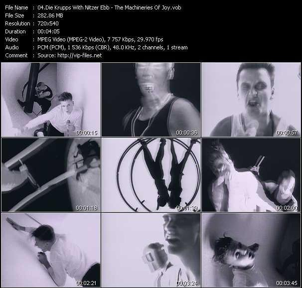 Die Krupps With Nitzer Ebb video screenshot