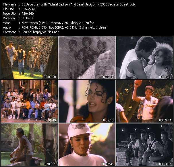 Jacksons (With Michael Jackson And Janet Jackson) video screenshot