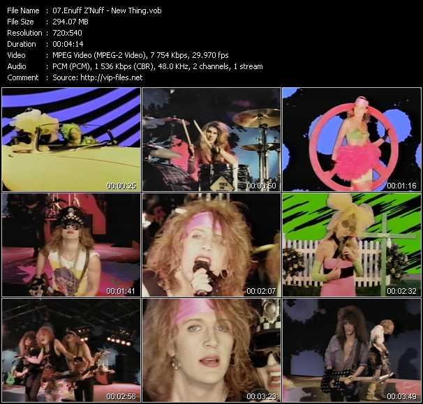 Enuff Z'Nuff video screenshot