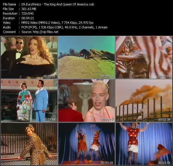 video The King And Queen Of America screen