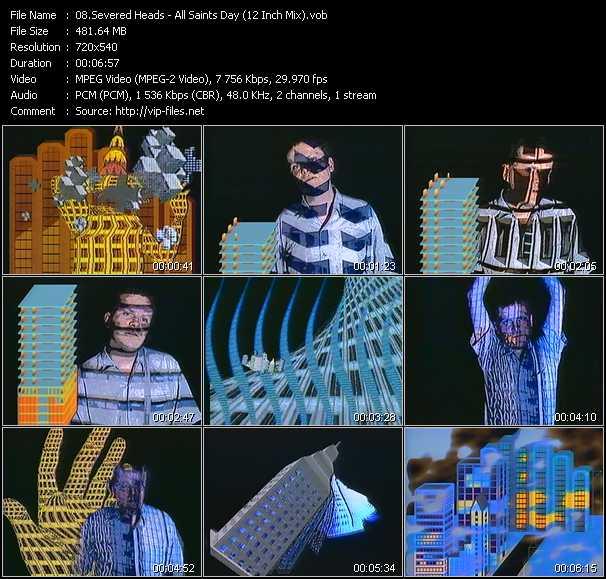 Severed Heads video screenshot