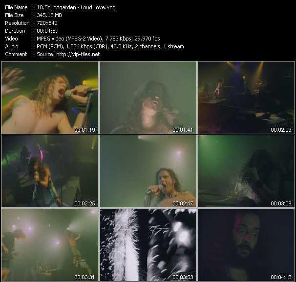 Soundgarden video screenshot