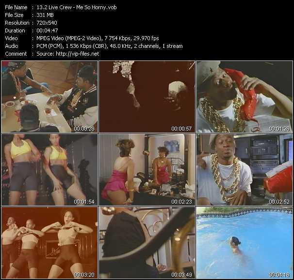 2 Live Crew video screenshot
