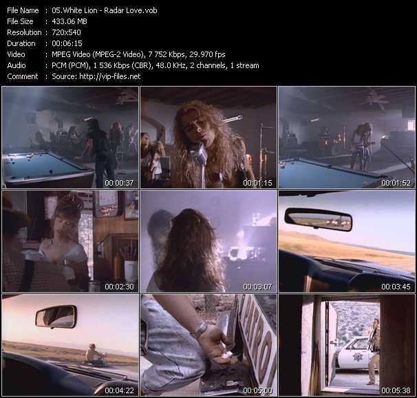 White Lion video screenshot