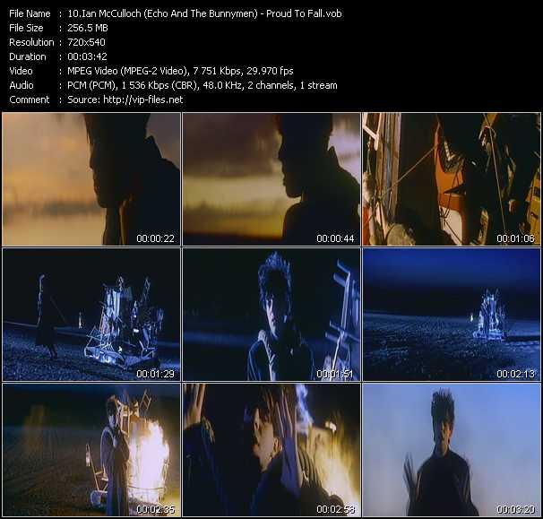 Ian McCulloch (Echo And The Bunnymen) video screenshot
