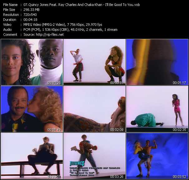 Quincy Jones Feat. Ray Charles And Chaka Khan video screenshot
