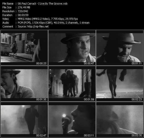 Paul Carrack video screenshot