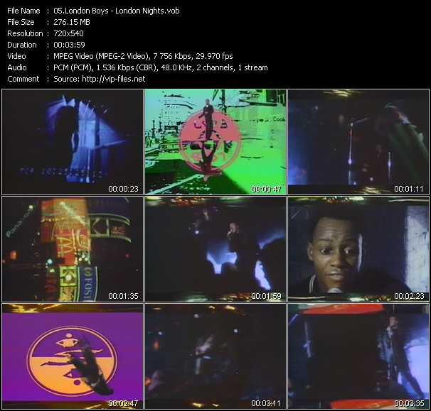 London Boys video screenshot