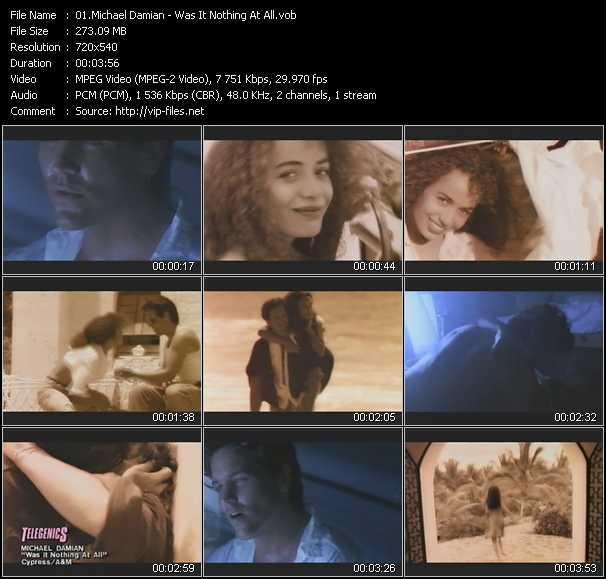 Michael Damian video screenshot