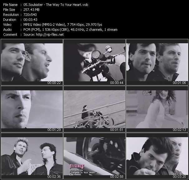 Soulsister video screenshot