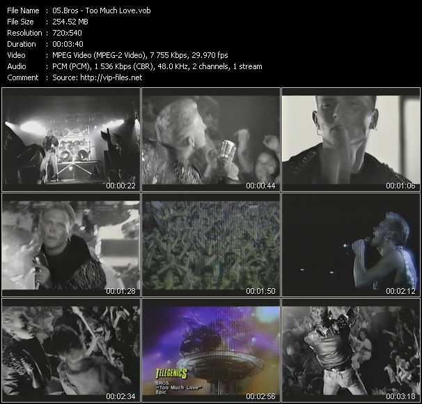 Bros video screenshot