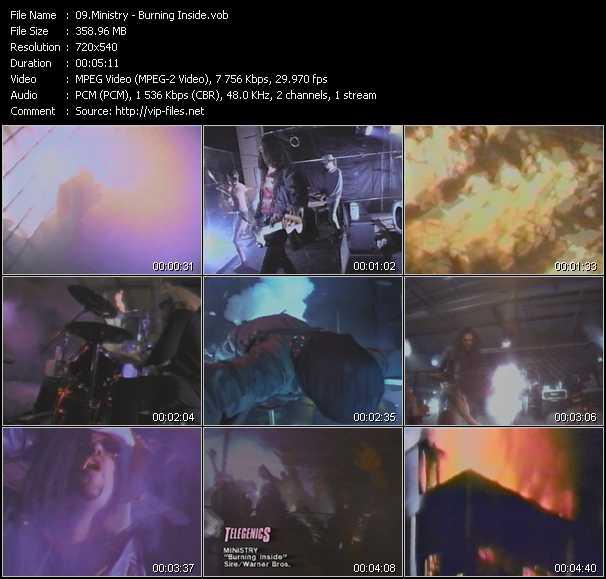 video Burning Inside screen