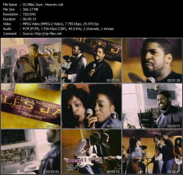 Miles Jaye video screenshot