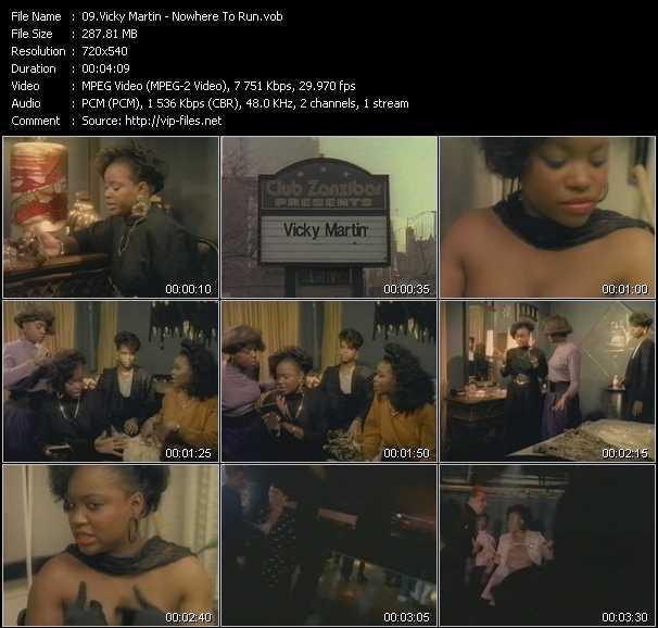 Vicky Martin video screenshot