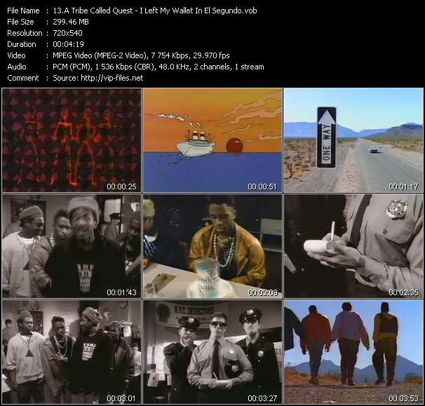 A Tribe Called Quest video screenshot