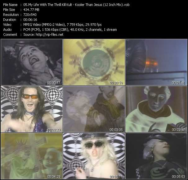 My Life With The Thrill Kill Kult video screenshot