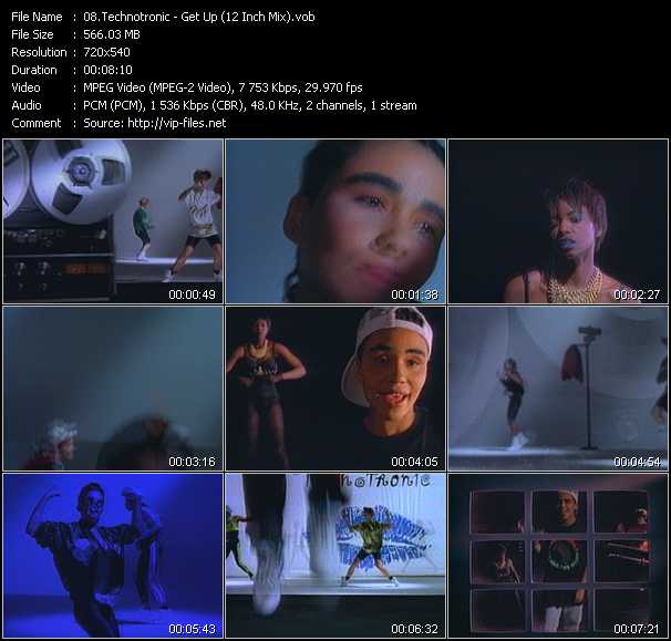 Technotronic video screenshot