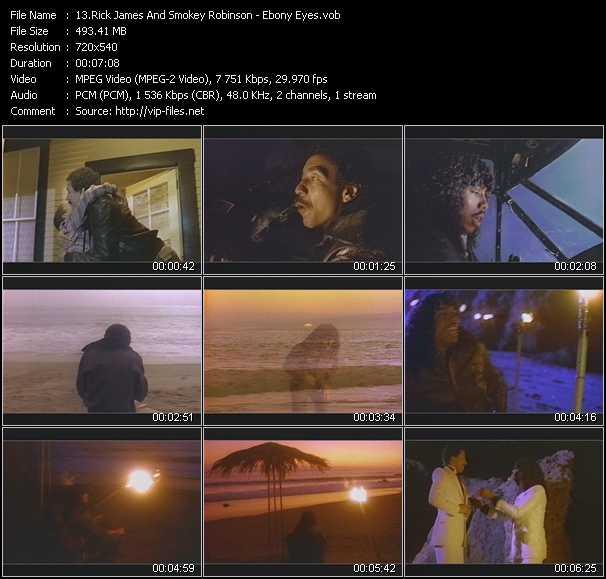 Rick James And Smokey Robinson video screenshot
