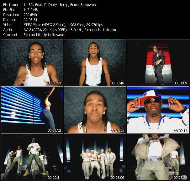 B2K Feat. P. Diddy (Puff Daddy) video screenshot