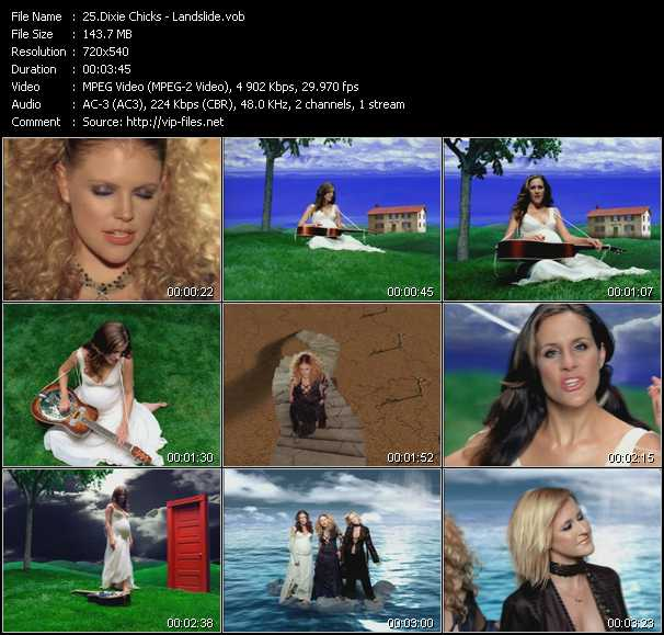 Dixie Chicks video screenshot