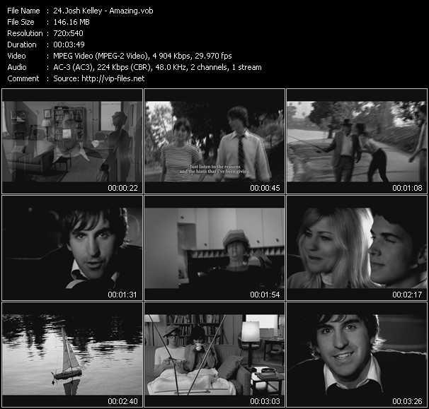 Josh Kelley video screenshot