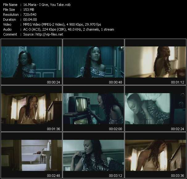 Maria video screenshot