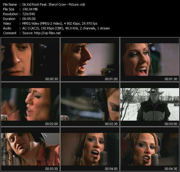 Kid Rock Feat. Sheryl Crow video screenshot
