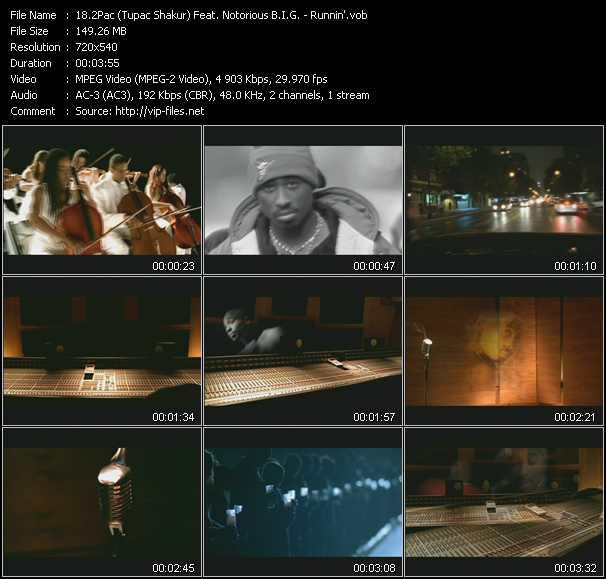 2Pac (Tupac Shakur) Feat. Notorious B.I.G. video screenshot