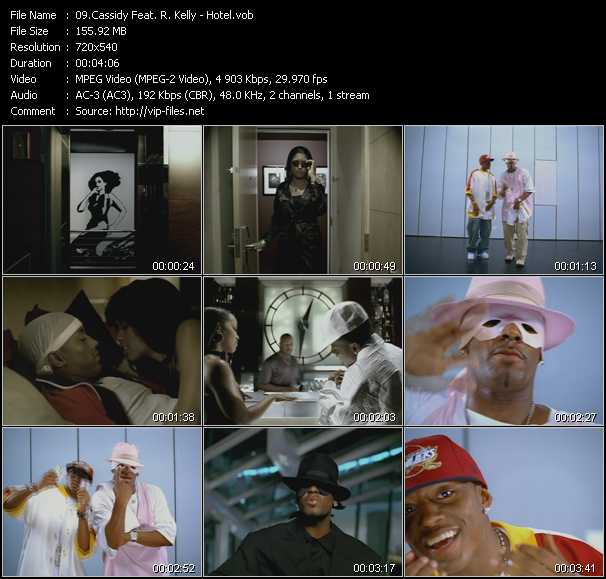 Cassidy Feat. R. Kelly video screenshot