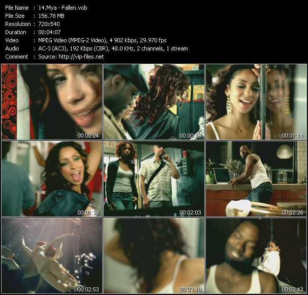 Mya video screenshot