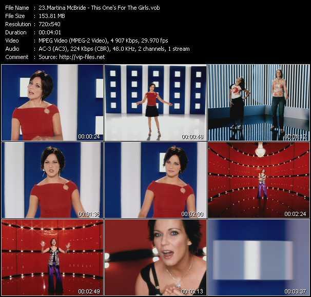 Martina McBride video screenshot