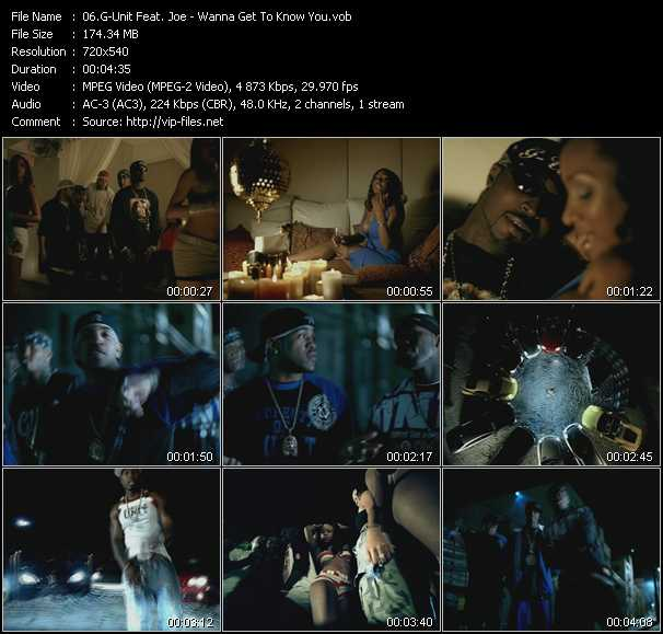 G-Unit Feat. Joe video screenshot