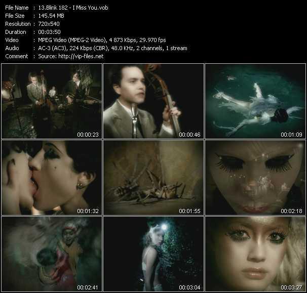 Blink 182 video screenshot