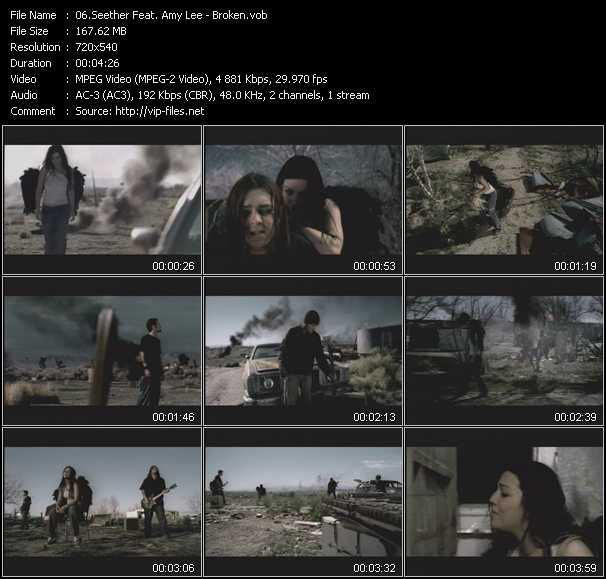 Seether Feat. Amy Lee video screenshot