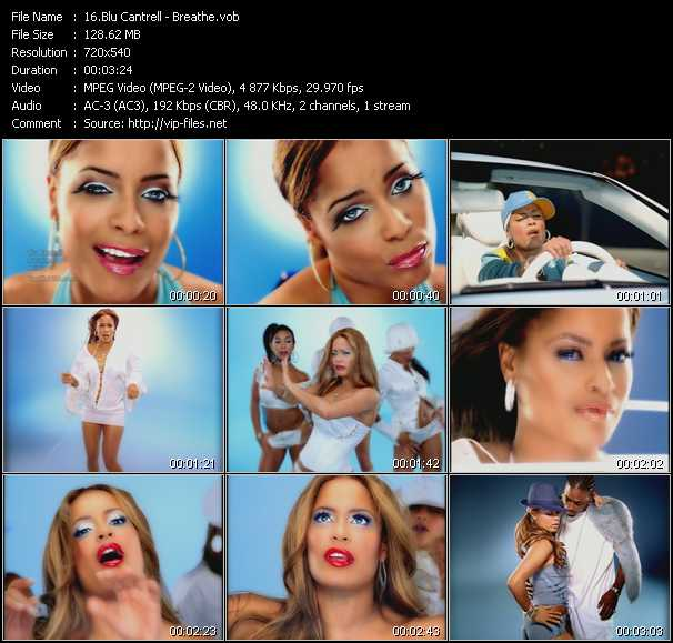 Blu Cantrell video screenshot