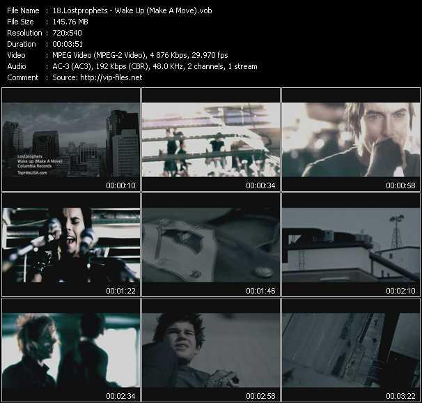 Lostprophets video screenshot