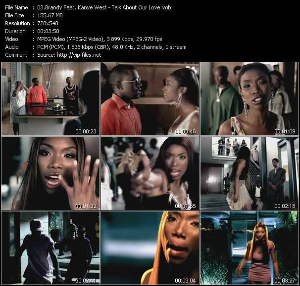 Brandy Feat. Kanye West video screenshot