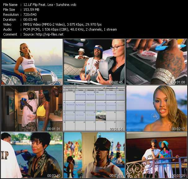 Lil' Flip Feat. Lea video screenshot