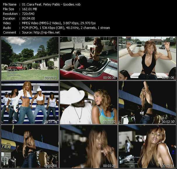 Ciara Feat. Petey Pablo video screenshot