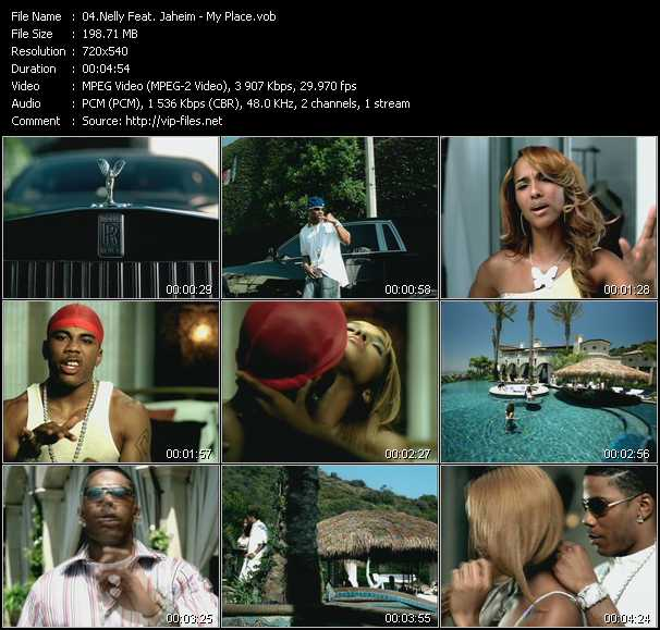 Nelly Feat. Jaheim video screenshot