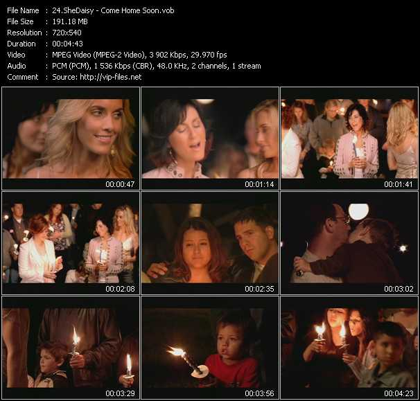 SheDaisy video screenshot