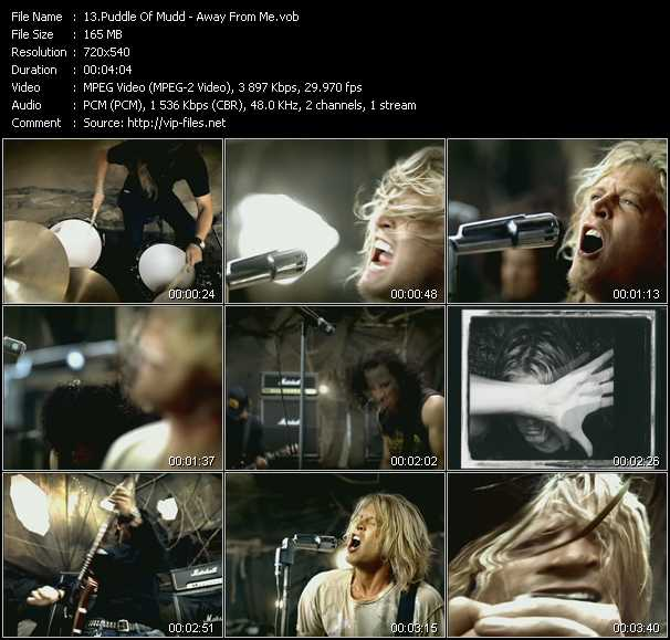 Puddle Of Mudd video screenshot