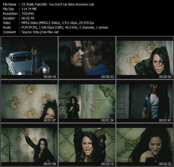 Shelly Fairchild video screenshot