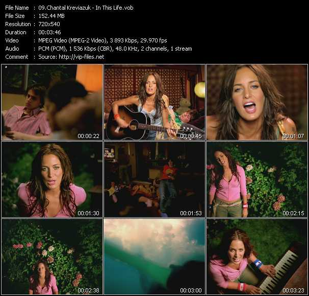 Chantal Kreviazuk video screenshot