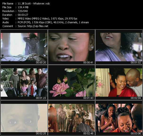 Jill Scott video screenshot