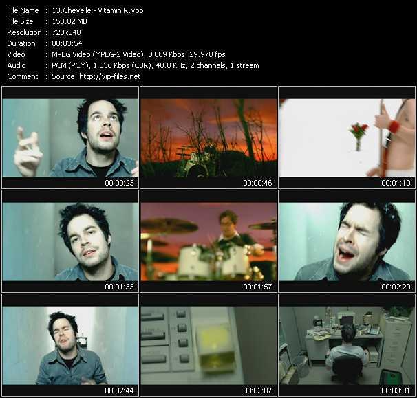 Chevelle video screenshot