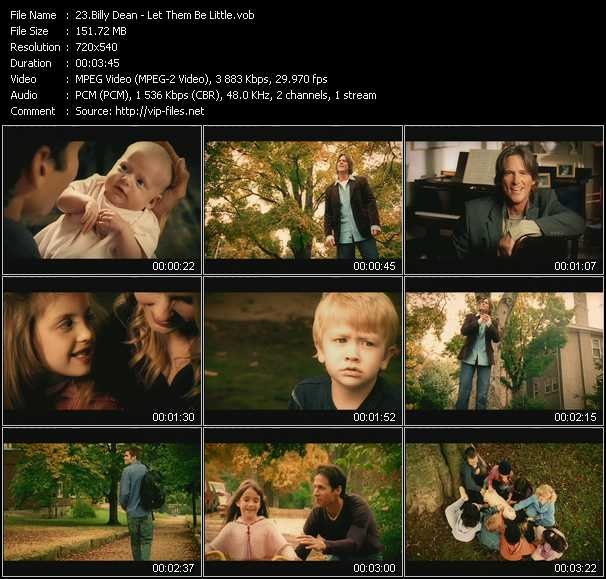 Billy Dean video screenshot