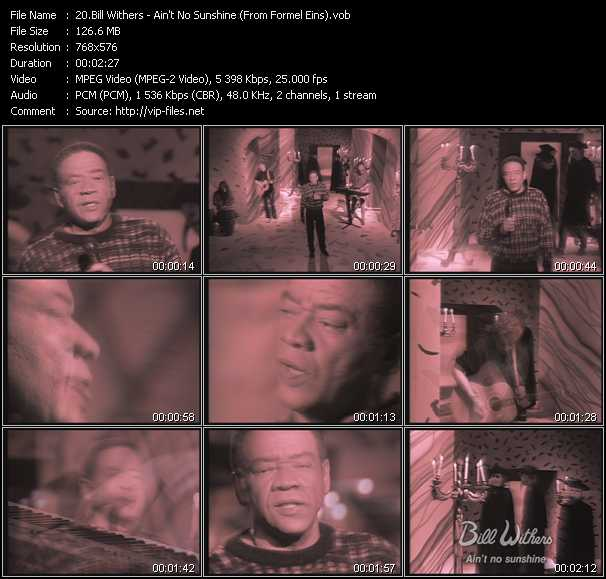 Bill Withers video screenshot