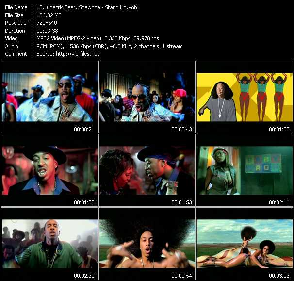 Ludacris Feat. Shawnna video screenshot